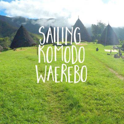 OPENTRIP sailing komodo waerebo