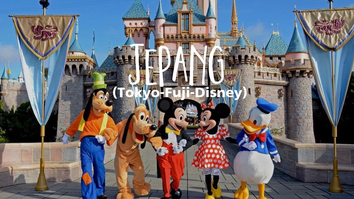 Paket Tour Jepang Murah 5 Hari 4 Malam Tokyo Fuji Disney Wukitravel
