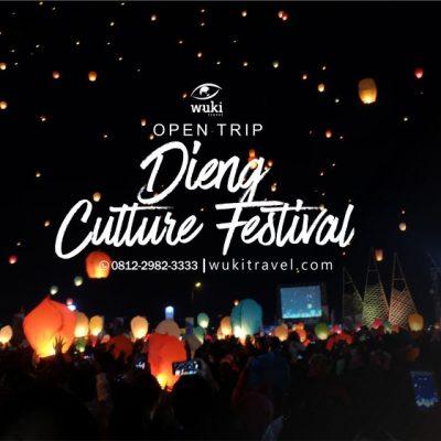 open trip dieng culture festival